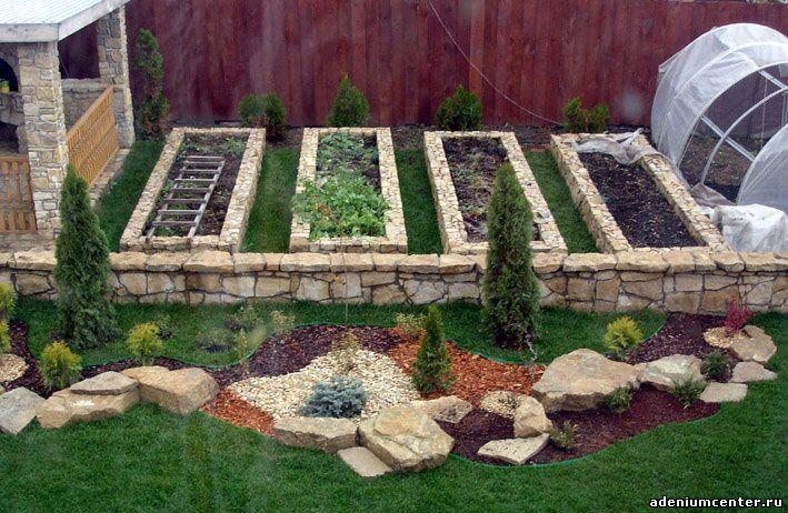 Как сделать огород красивым фото красивых огородов